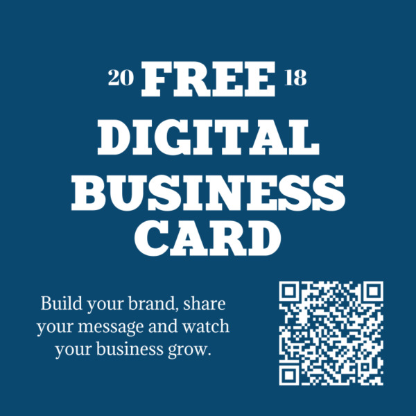 1 free digital business card no purchase necessary - Free Digital Business Card