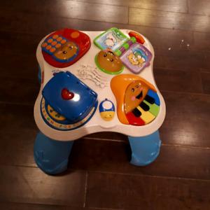 Music and sensory Table