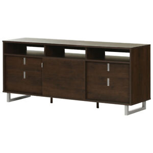 """South Shore Uber 60"""" TV Stand - Brown  New in Box"""