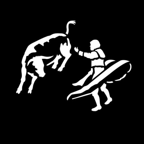 (6) Apollo Gobo Bull Fighter, Balane Beam, Runners, Skiers, Cowboy