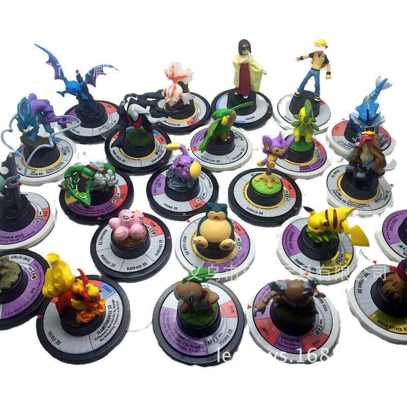 8X Nintendo Pokemon Trading Figure Game Next Quest TFG Rare Send At Random