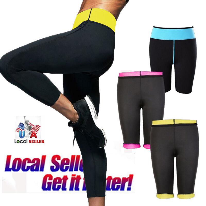 Sexy Women Slimming Pants Hot Thermo Neoprene Sweat Sauna Sh