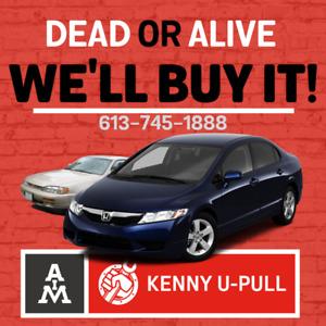 #1 Scrap Car Buyer | Dead Or Alive, We Buy It | Kenny™ OTT.