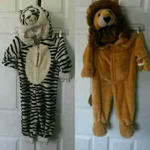 Tiger and Lion Costumes for Halloween 10$ each