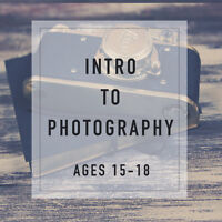 Teen Intro to Photography Workshop