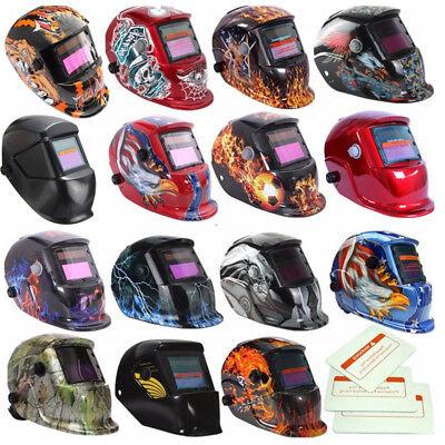 Pro Solar Auto-darkening Welding Helmet Lens Mask Grinding Welder Mask