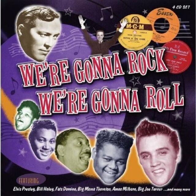 WE'RE GONNA ROCK WE'RE GONNA ROLL 4 CD NEU