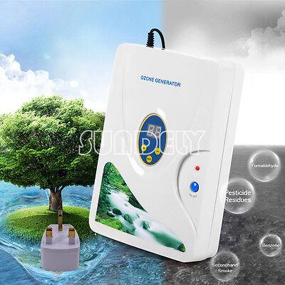 Home Ozone Generator Ozonator 220V 600mg/h Air Purifier Water Food Sterilizer