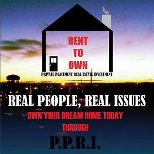 Looking to rent to own your dream home? Contact PPRI today!