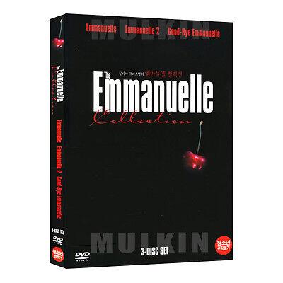 THE Emmanuelle Collection (Emmanuel, Sylvia Kristel 3-Disc) DVD (*New)