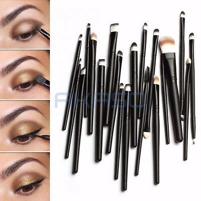 Makeup Brushes Set 20pcs Professional Powder Eyeshadow Eyeliner Lip Brush Tool on Rummage