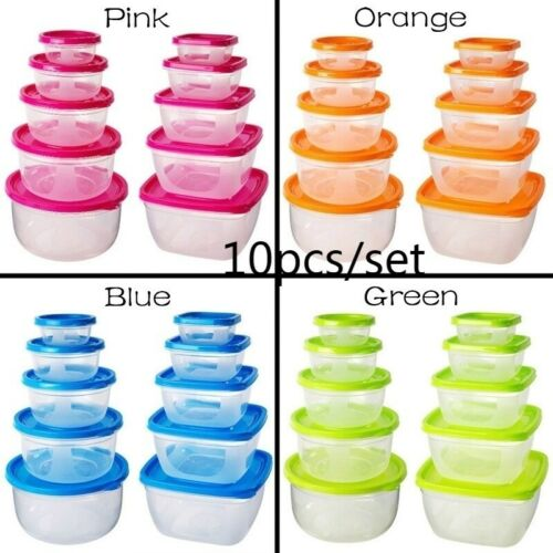 Leak Proof Food Storage Container Meal Prep Containers Set H