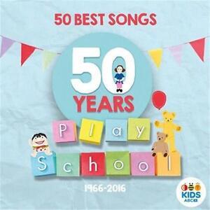 PLAY SCHOOL 50 BEST SONGS CD NEW