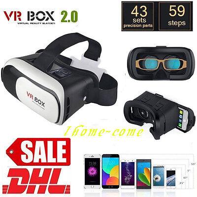 Handybrille 3D Brille für Smartphone VR IOS Android Virtual Reality Cardboar VA