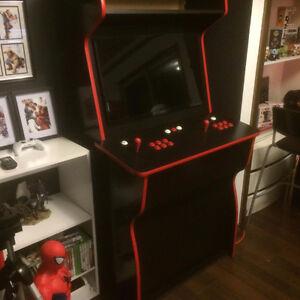 ARCADE CABINET 2 player 32' monitor & game board