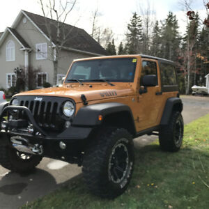2014 Jeep Wrangler Willys Edition, 4x4 6 speed