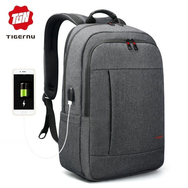 Tigernu® Anti Thief USB Bagpack 15.6 To 17inch Laptop Backp