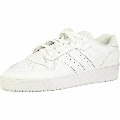 adidas Originals Rivalry Low White Leather Adult Trainers Shoes