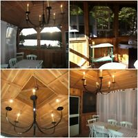 Taking Fall Reservations, 4br waterfront, Gazebo, Val-des-Lacs