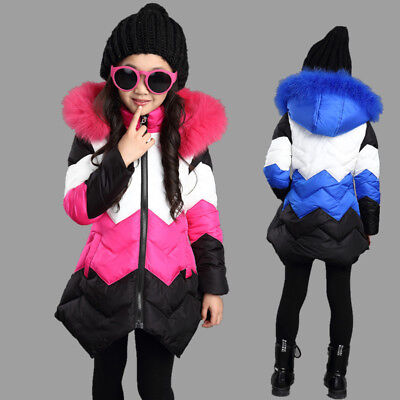 Kids Jacket for Girls Winter Coat Fashion Thick Warm Children Outerwear Clothing](Outerwear For Girls)