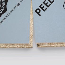 T&g chipboard Egger peel clean xtra p5 flooring. 2400x600x 22mm