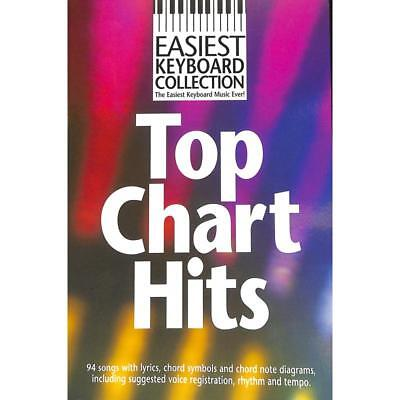 Keyboard Noten - TOP CHART HITS - EASIEST KEYBOARD COLLECTION - 94 HITS