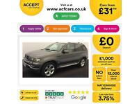 BMW X5 3.0d auto 2005MY Sport Exclusive Edition FROM £31 PER WEEK !