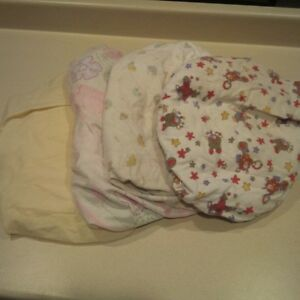 crib/pack and play sheets,