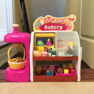 Shopkins Bakery, Makeup Spot and Shopkin Mall for sale