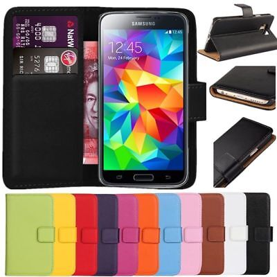 Best Premium Leather Book Case Wallet Cover For Samsung Galaxy Note 2 N7100  (Note 2 Case Best)