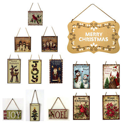 Christmas Wooden Pendant Door Decorations Hanging Party Decoration Halloween  - Halloween Hanging Door Decorations