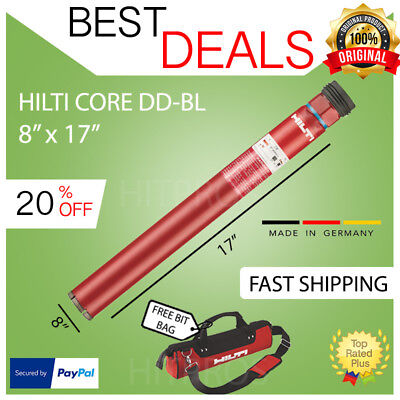 Hilti Core Bit Dd-bl 817 U4 Brand New Strong Fast Shipping