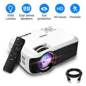 1080p HD Mini Portable Projector Multimedia Home Theater