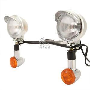 Passing Signals Light Bar Kit For Kawasaki Vulcan VN 800 900 1500 1600 1700 2000