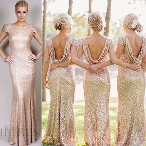 Rose Gold Prom/Formal/Bridesmaid Dress Windsor Region Ontario image 1