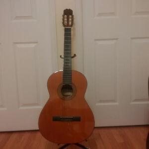 Classical guitar made in Spain
