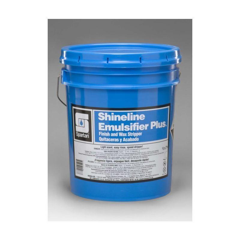 Spartan Shineline Emulsifier Plus Finish/Wax Stripper, 5 gal pail