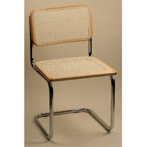 Breuer Metal Chair - Natural
