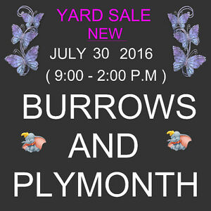 YARD SALE - NOW- NEW- JULY 30 -SAT.