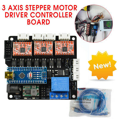 Diy Cnc 3 Axis Laser Controller Board Grbl Stepper Motor Driver Board Engraving