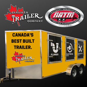2019 7X10 Steel Canadian Cargo Trailer - We Take Trade Ins
