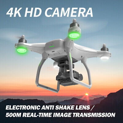 RC Drone With 4K HD Camera GPS WiFi Professional Quadcopter Gimbal Stabilizer