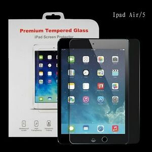 TRANSPARENT TEMPERED GLASS SCREEN PROTECTOR FOR IPAD 3 4 MIN AIR