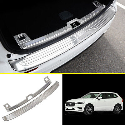 Used, Outer + Inner Rear Bumper Protector Sill Trunk Tread Plate For Volvo XC60 18-19 for sale  Shipping to Canada