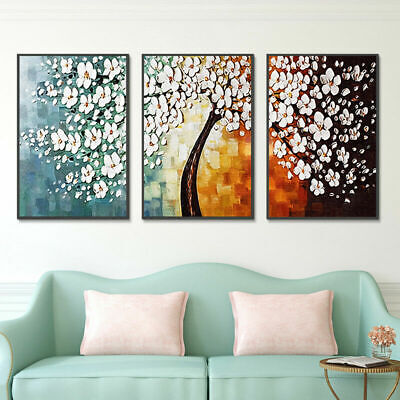 White Cherry Modern Art Oil Paintings Canvas Picture Living Room Wall Hall Decor