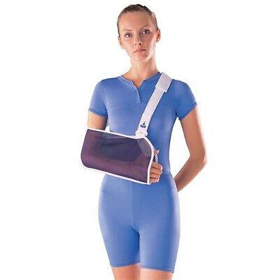 (Breathable Mesh Shoulder Arm Sling Arm Fractures Surgery Broken Wrist Support)