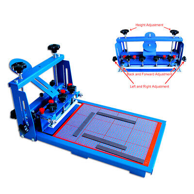 Precision Silk Screen Printer Micro-registration Press Machine With Scaleplate