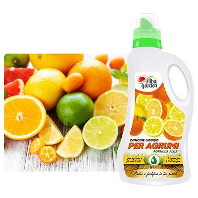 Abono Líquido Fertilizante Npk Para Agrios Limones Frutas Chinas Mandarinas 1 Lt