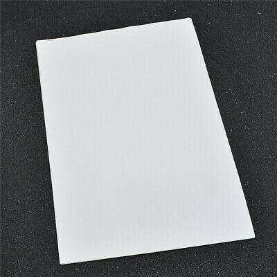 20 Pcs A4 Blank Sticker Paper Matte White Laser Label For Inkjet Printer Sticker