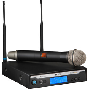 Three (3) Electro-Voice EVr300 Pro Wireless Microphone Units